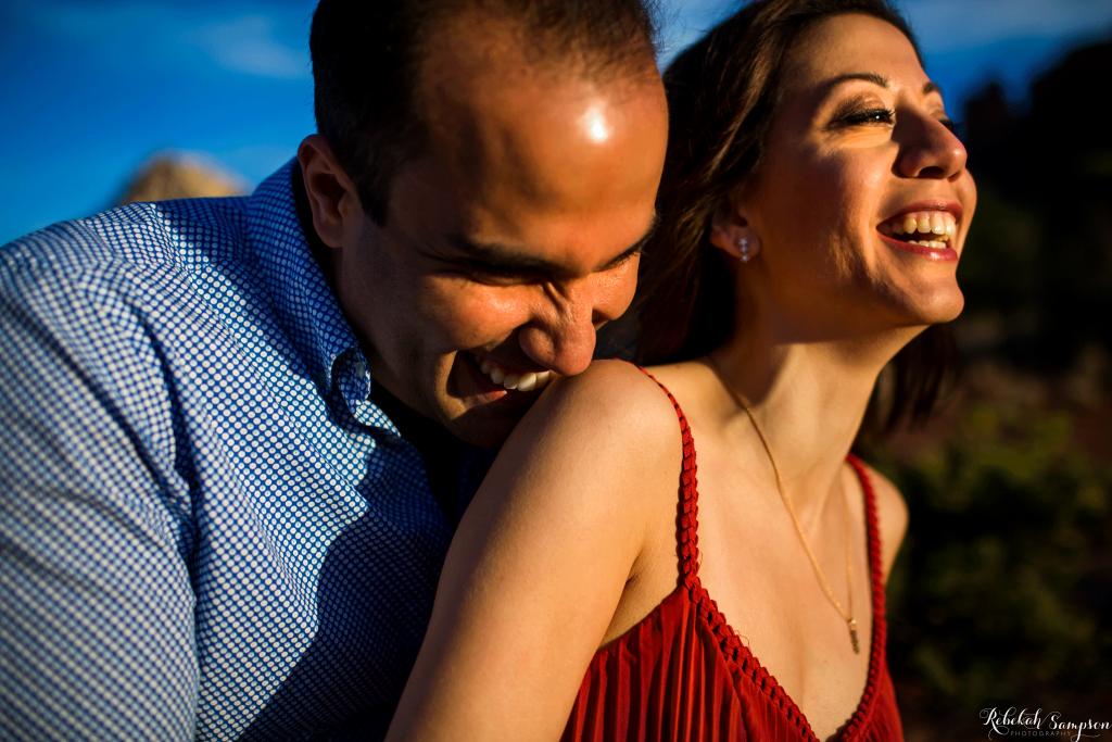 Sedona engagement | Rebekah Sampson Photography