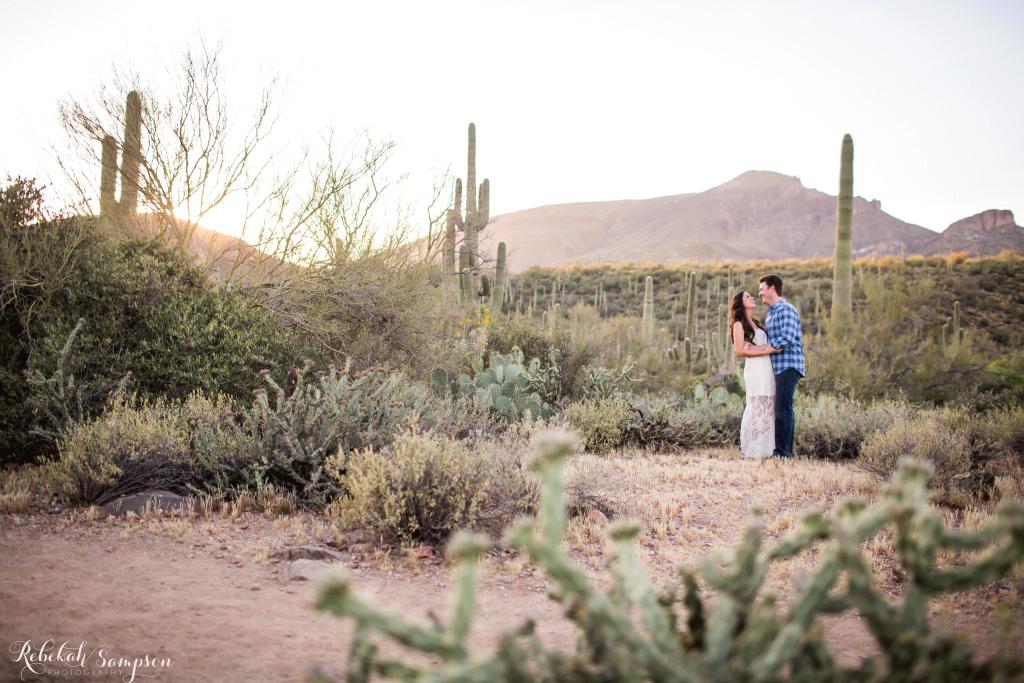 Rebekah Sampson Photography   Arizona desert wedding