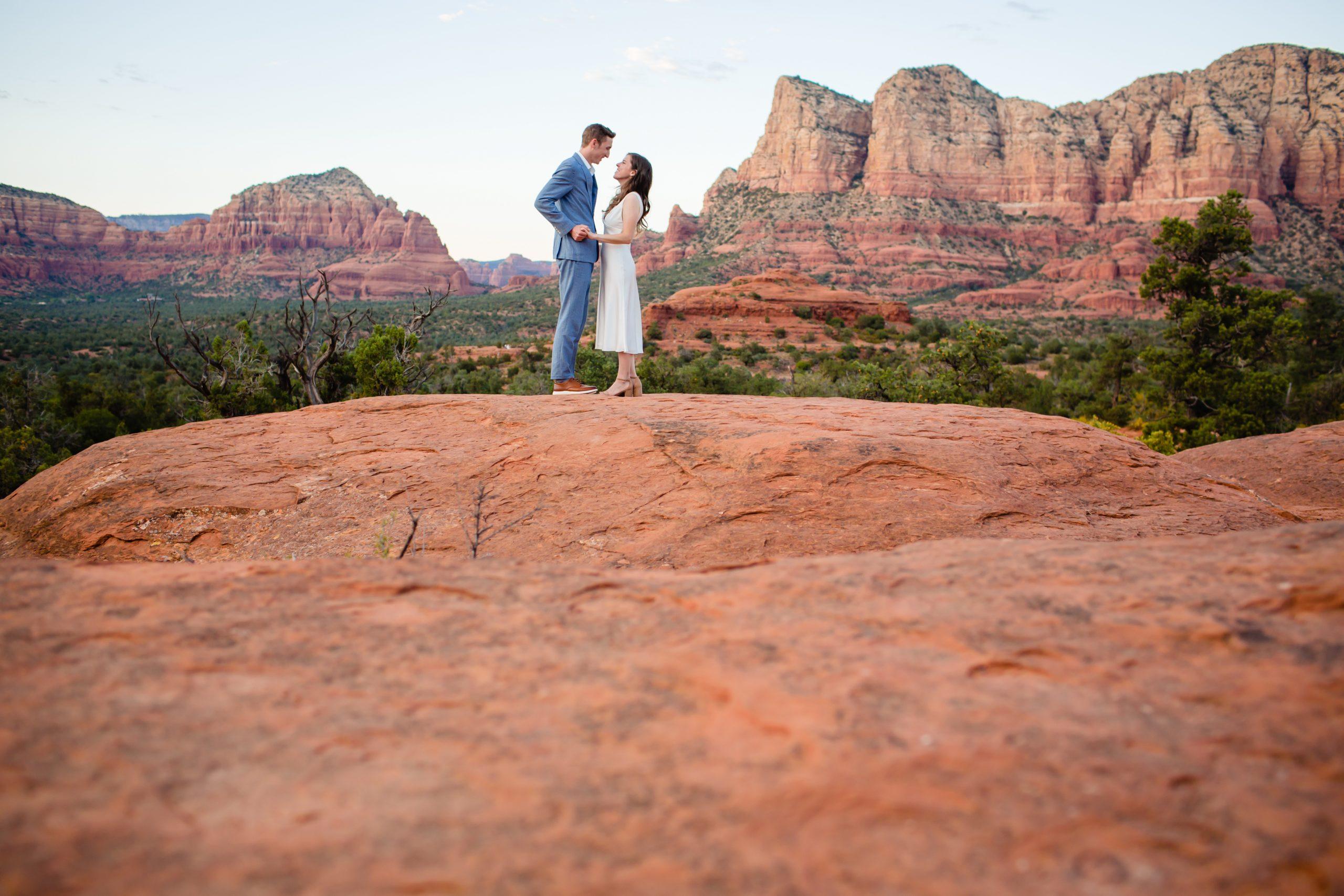 Sedona Arizona wedding elopement